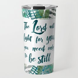 Exodus 14:14 Travel Mug