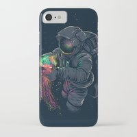 iPhone Cases featuring Jellyspace by Angoes25
