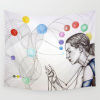 destiny Wall Tapestries featuring Destiny by Heaven7