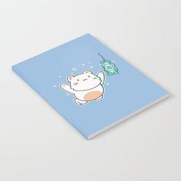 Nevermind Cat Notebook