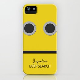 deep search iPhone Case