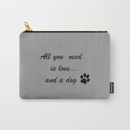 Love Dogs Carry-All Pouch