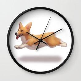 my corgi Wall Clock
