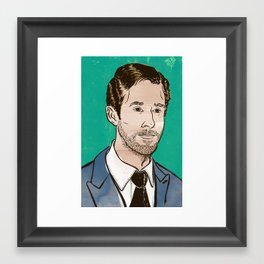 Ryan Gosling Framed Art Print