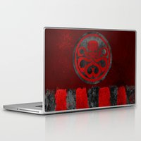 hydra Laptop & iPad Skins featuring Captain Hydra by Some_Designs
