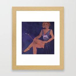 Magical Glamour Framed Art Print