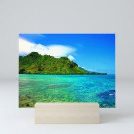 Kahana Bay ... By LadyShalene Mini Art Print