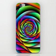 Rainbow Spiral iPhone & iPod Skin