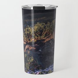 Wildflowers at Dawn - Nature Photography Travel Mug