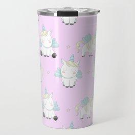 Pegacorn - Pink Travel Mug