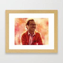 "joaquin phoenix from ""Her""  Framed Art Print"