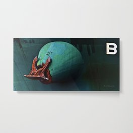 Freighter Anchor Metal Print