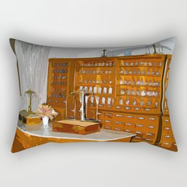 Pharmacy - The Shop Rectangular Pillow