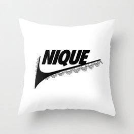 Nique Throw Pillow