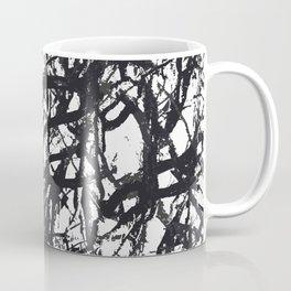 Black Trees Coffee Mug