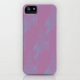 Blurred Flower iPhone Case