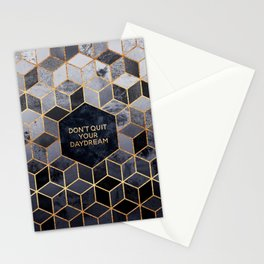 Don't quit your daydream Stationery Cards