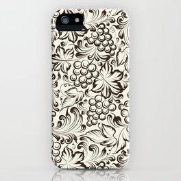 Vine seamless background iPhone Case
