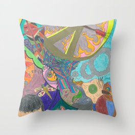 Day Dream 1 Throw Pillow