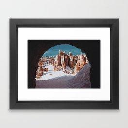Through the Tunnel II Framed Art Print