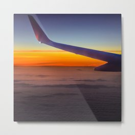 Sunrise over the seventh sky Metal Print