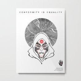Avatar: Legend of Korra Amon Poster Metal Print