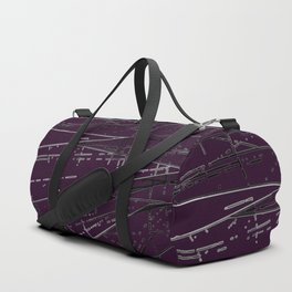 Neon Disco #5 Duffle Bag