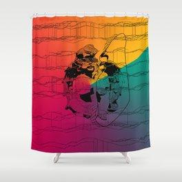 abstarct art Shower Curtain