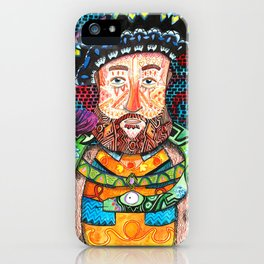 Henry the Snake iPhone Case