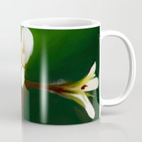 free shipping Mugs featuring wild geranium - Free shipping by Ordiraptus