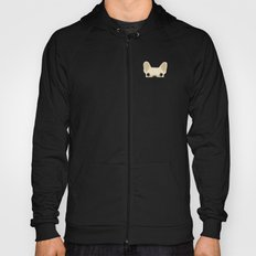 Pocket French Bulldog - Cream Hoody