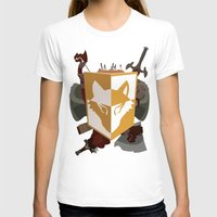 kit king T-shirts featuring Adventurer's kit by Armored Collective