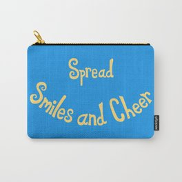Spread Smiles and Cheer Carry-All Pouch