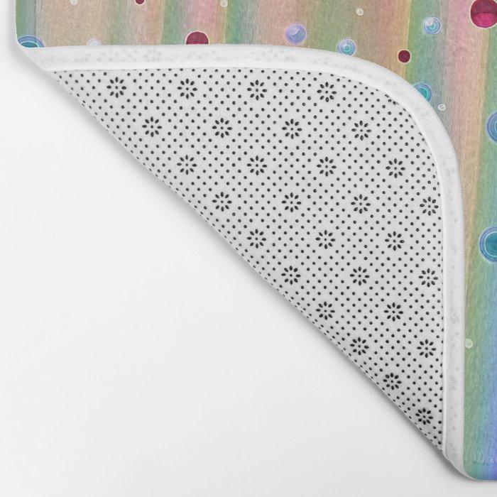 Sounds of Bubbles Bath Mat