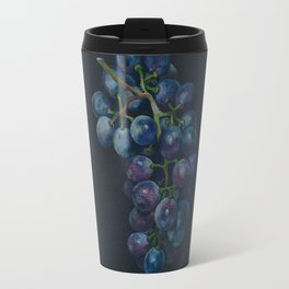 Black Grape Travel Mug