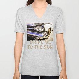 Classic Car Beauty Unisex V-Neck