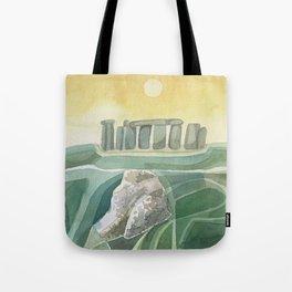 Stonehenge Wiltshire England Tote Bag