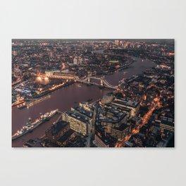 London #society6 #decor #buyart Canvas Print