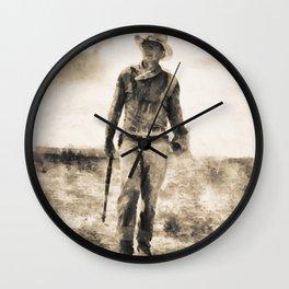 John Wayne Wall Clock