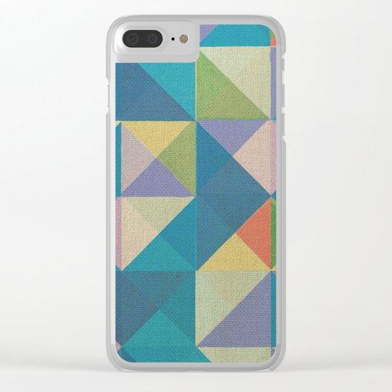 Trigonale 2 Clear iPhone Case