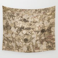 da vinci Wall Tapestries featuring da Vinci Angels by Bruce Stanfield