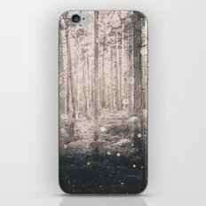 Forest Nature Walk - Magical Winter Fairy Lights iPhone & iPod Skin