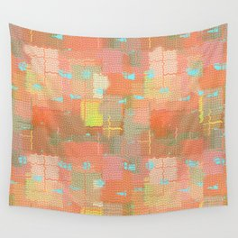 Abstract Color Splash Wall Tapestry