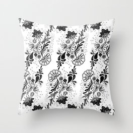 Lace 2  Throw Pillow