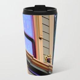 Grand Dame With Old Blue Travel Mug