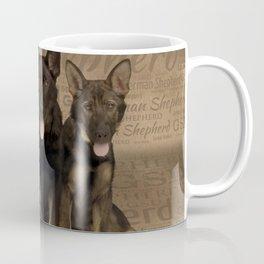 German Shepherd Puppies Coffee Mug
