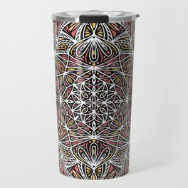 Mandala Pattern Design 20 Travel Mug