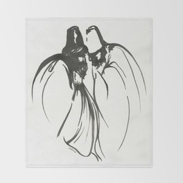 Dervish Whispers Throw Blanket