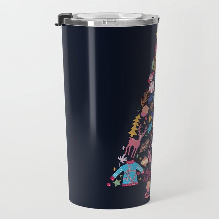 Magic of a christmas tree Travel Mug