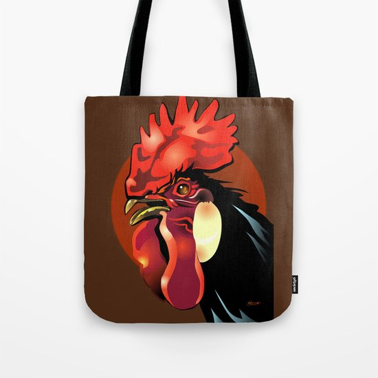 Andalusian Rooster 1 Tote Bag